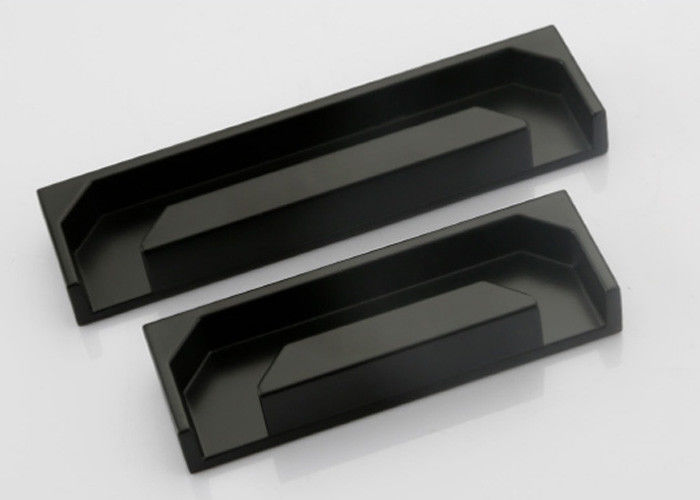 Small 96mm 128mm Cabinet Door Handles  Cabinet Door Pulls In Black Color