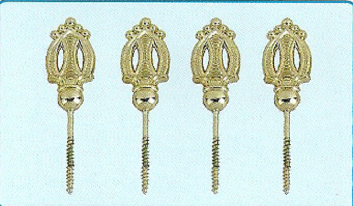 Lightweight Coffin Hardware Metal Screws In Gold Colour For Funeral Products