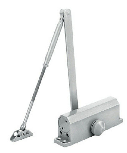 Security High Performance Metal Door Closer , Long Life Aluminum Door Closer